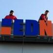 EDN logo na střeše