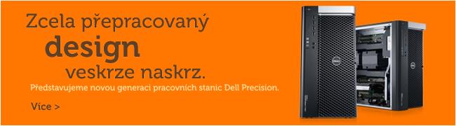 Představujeme novou generaci pracovních stanic Dell Precision